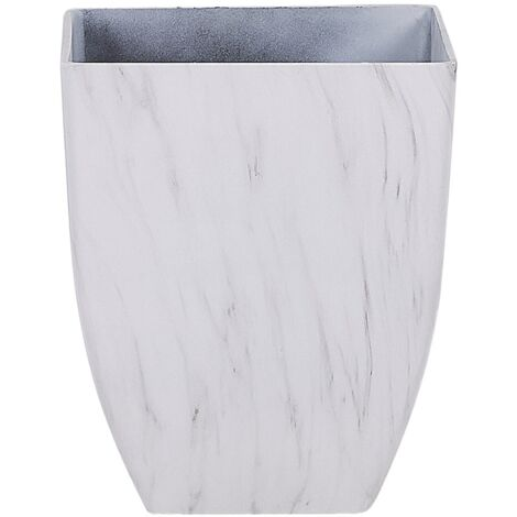 Plant Pot 35 x 35 x 42 cm Marble Effect MIRO