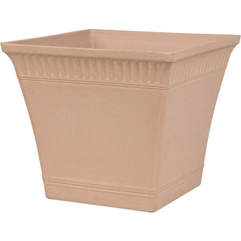 Plant Pot 41 x 41 x 36 cm Pink PSATHA