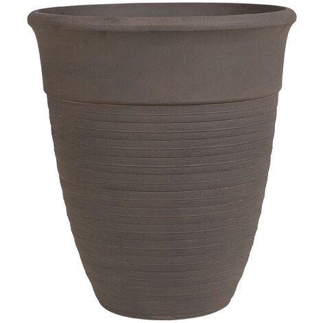 Plant Pot ⌀ 50 cm Brown KATALIMA