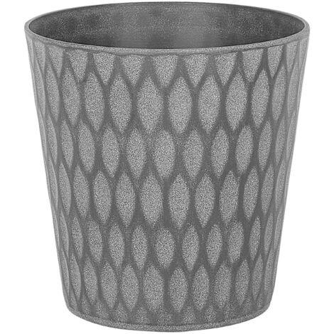"main image of ""Plant Pot Modern Grey Outdoor Indoor Garden Flower Planter Lavrio"""