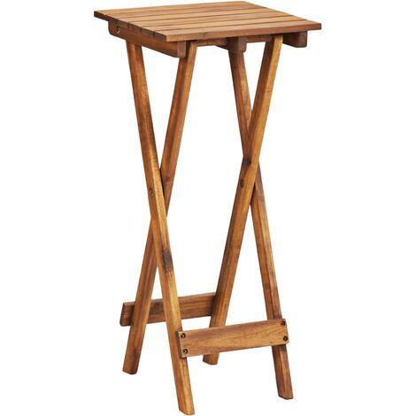 Plant Stand 30x30x67 cm Solid Acacia Wood