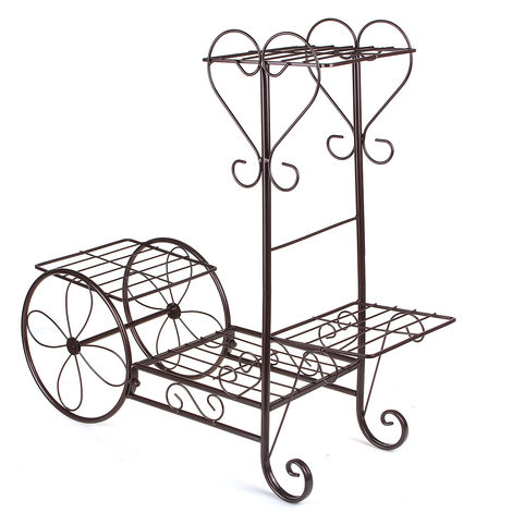 Plant Stand Display Stand 4 Tier Decorative Flower Pot Shelf A