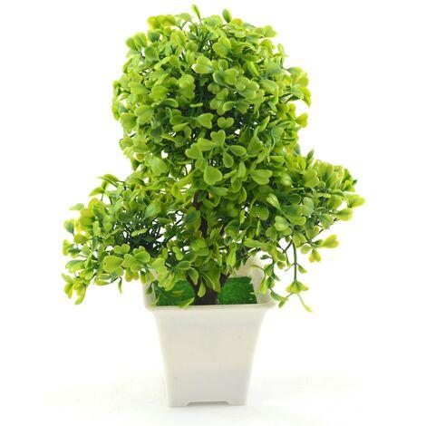 Planta artificial (17x25 cm) Bonsái Verde