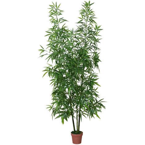 PLANTA ARTIFICIAL BAMBÚ 200 CM Verde