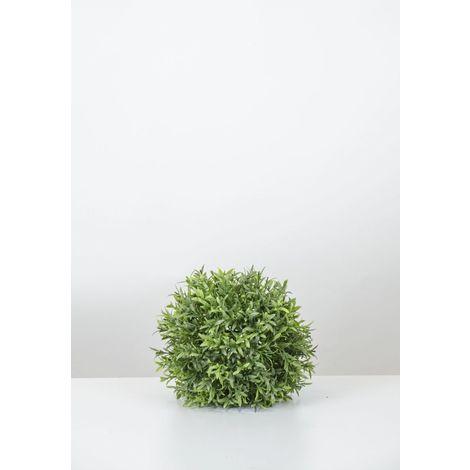 Planta artificial. Bola LAUREL de 25 cm. HD. Alto realismo.