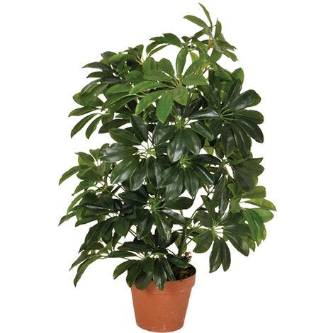 PLANTA ARTIFICIAL CHEFLERA 65 CM Verde
