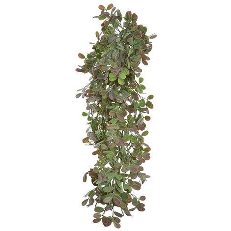 Planta Artificial Colgante, Grande, para Decoración de Interior/Exterior. Diseño Realista, con estilo Natural - Hogar y Más C