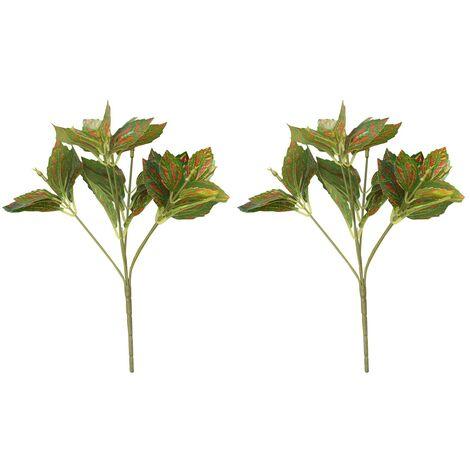 Planta Artificial de Ramas de Hiedra para Jardín Vertical Dos Unidades Hogar y Más