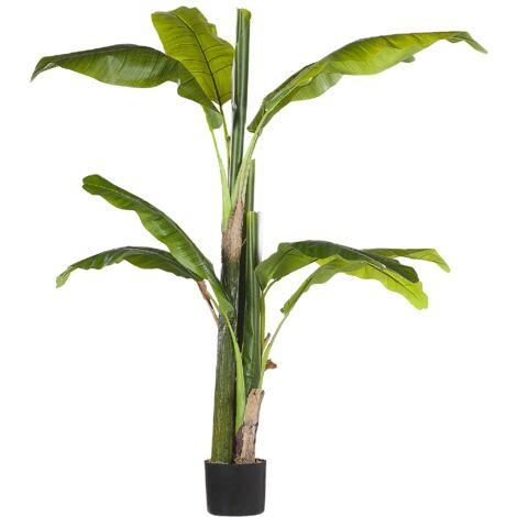 Planta artificial en maceta 154 cm BANANA TREE