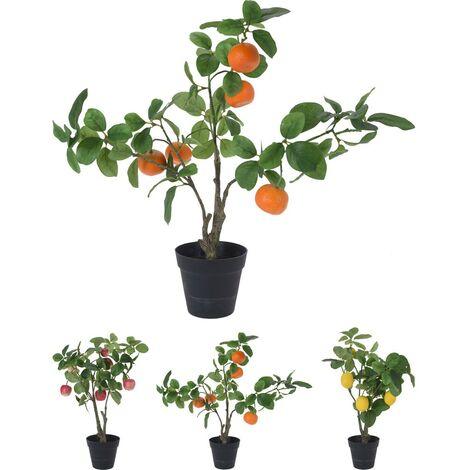 Planta artificial fruta 50cm surtida