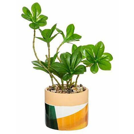 PLANTA ARTIFICIAL MACETA ARTY Color - Verde