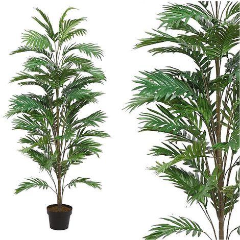 Planta de Areca Artificial. Realista de Tela. 145 Cm