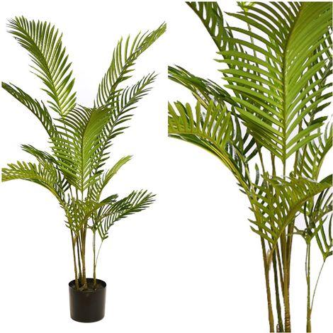 Planta de Areca Artificial. Realista de Tela y Latex. 130 C