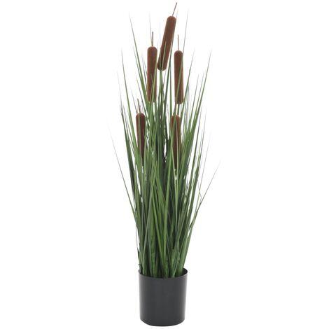 Planta de hierba artificial con junco 60 cm