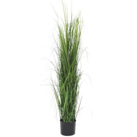 Planta de hierba artificial verde 130 cm