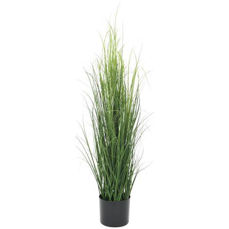 Planta de hierba artificial verde 95 cm