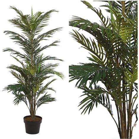 Planta Palmera Areca Artificial. Altura 153 Cm