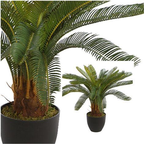 Planta Palmera Cyca Artificial. Altura 68 Cm