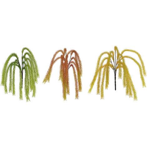 Planta/Rama Colgante Decorativa, 3 Modelos a elegir. Diseño Original/Floral 3X52 cm.-Hogarymas- Verde