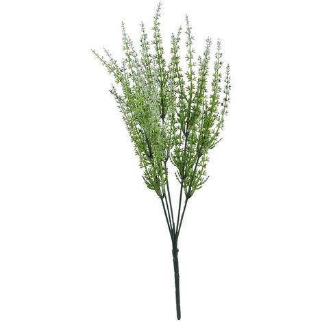 Planta/Rama con Flor Decorativa, 3 Modelos a elegir. Diseño Original/Floral 39X2 cm.-Hogarymas- A