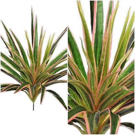 Planta Yuca artificial. Realista tacto natural. Anchura 40 Cm
