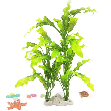 Plantas artificiales de acuario Plantas artificiales de plastico Adornos