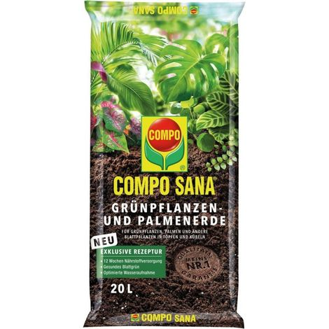 Plantas verdes y tierra de palmera 20LCOMPO SANA (por 102)