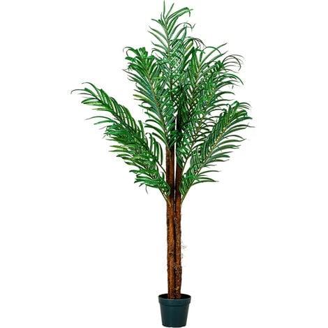PLANTASIA® Kokospalme, Kunstpalme, Kunstpflanze, 160cm