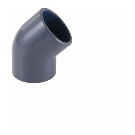 Plantawa Codo PVC Presión 45° Encolar Ø32mm PN16