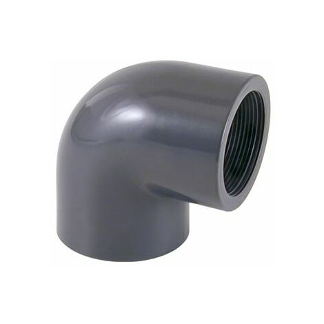 "Plantawa Codo PVC Presión 90º Rosca 1 "" PN10"