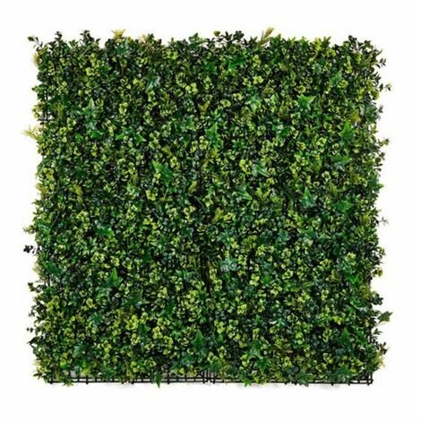 Plantawa Jardín Vertical Hedra Elemento Decorativo para Interior Seto Artificial sobre Pared Lisa