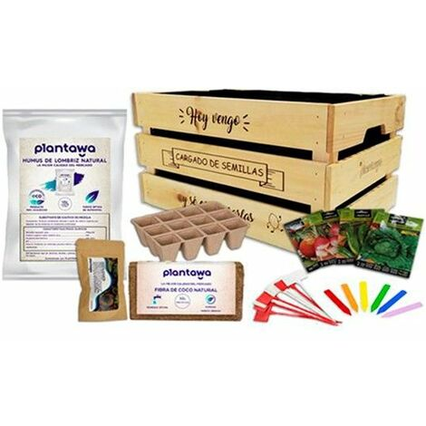 Plantawa Kit Jardinage Potager Avec Graines Cadeau