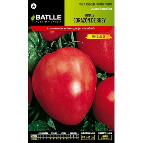 Plantawa Paquet de 4 Graines de Tomates Oxheart