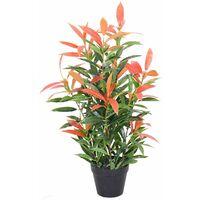 Plante artificielle avec pot Photinia 80cm - Vert