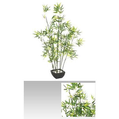 """Plante Artificielle """"Bambou"""" - Dim : H 122 cm"""
