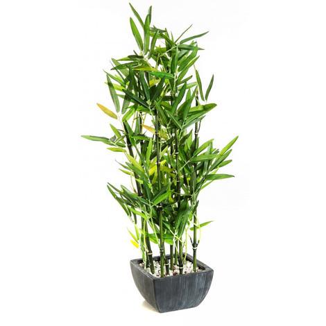 """Plante Artificielle """" Bambou """" - Dim : H.76 cm"""
