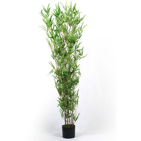 Plante artificielle Bambou - Hauteur 180 cm -PEGANE-
