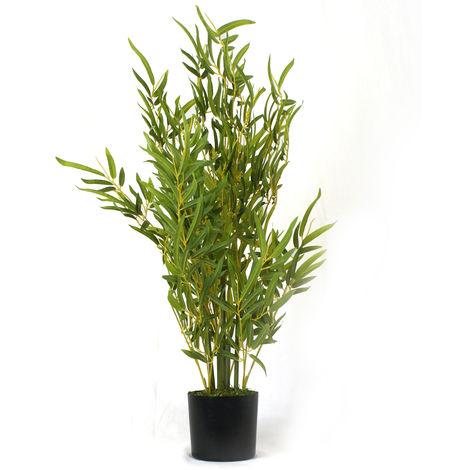 Plante artificielle Bambou - Hauteur 76 cm -PEGANE-