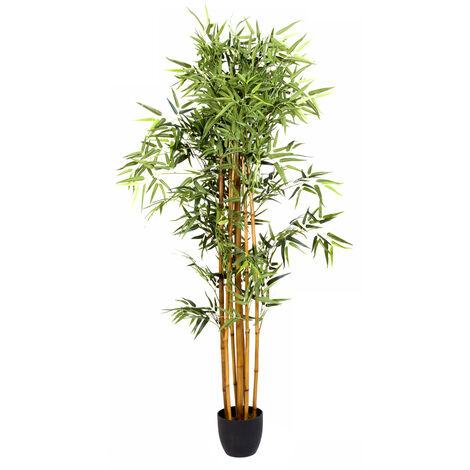 Plante artificielle Bambou Pot Hauteur 180 cm