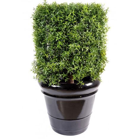 Plante Artificielle / Eucalyptus Artificiel Carré - Dim : 60 x 40 x 40 cm -PEGANE-