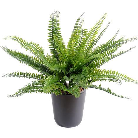 Plante artificielle haute gamme Spécial extérieur / Fougere artificielle - Dim : 40 x 55 cm -PEGANE-