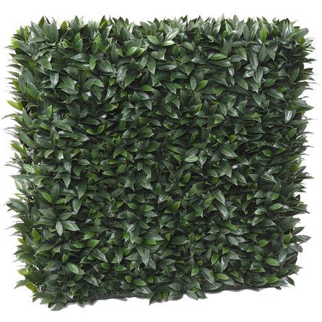 Plante artificielle haute gamme Spécial extérieur / LAURIER Artificiel - Dim : 105 x 40 cm -PEGANE-