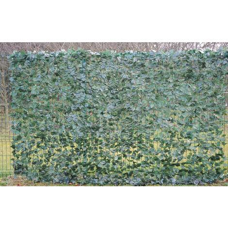 Plante artificielle haute gamme Spécial extérieur / Lierre artificiel - Dim : 200 x 300 cm -PEGANE-
