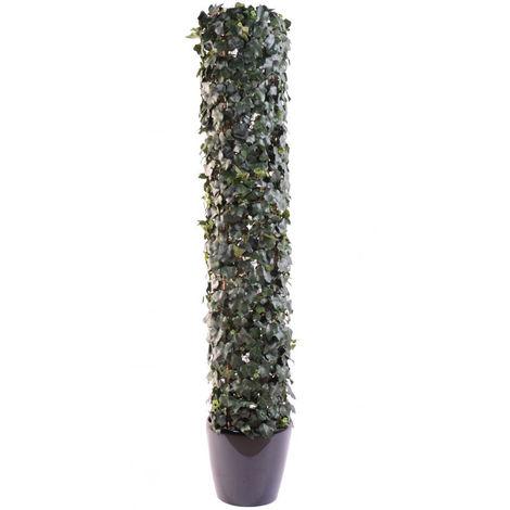 Plante artificielle haute gamme Spécial extérieur / Lierre artificiel Vert - Dim : 185 x 35 cm -PEGANE-