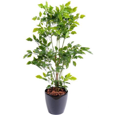 Plante artificielle haute gamme Spécial extérieur / Palissandre artificielle vert - Dim : 120 x 60 cm -PEGANE-