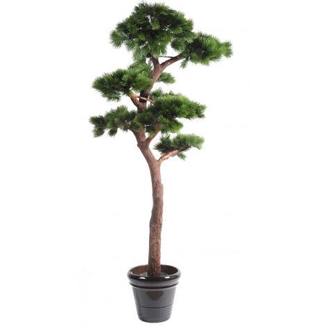 Plante artificielle haute gamme Spécial extérieur / PIN artificiel BONSAI UV - Dim : 220 x 120 cm -PEGANE-