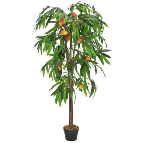 Plante artificielle Manguier avec pot Vert 150 cm
