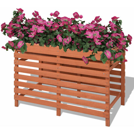 Planter 100x50x71 cm Wood