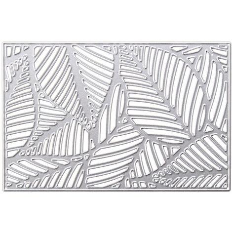 Plantillas de corte de metal Álbum de bricolaje tarjeta de scrapbooking borde de hojas de papel