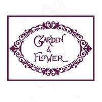 Plantillas Stencil Din A5 Dayka garden Flower V-00282